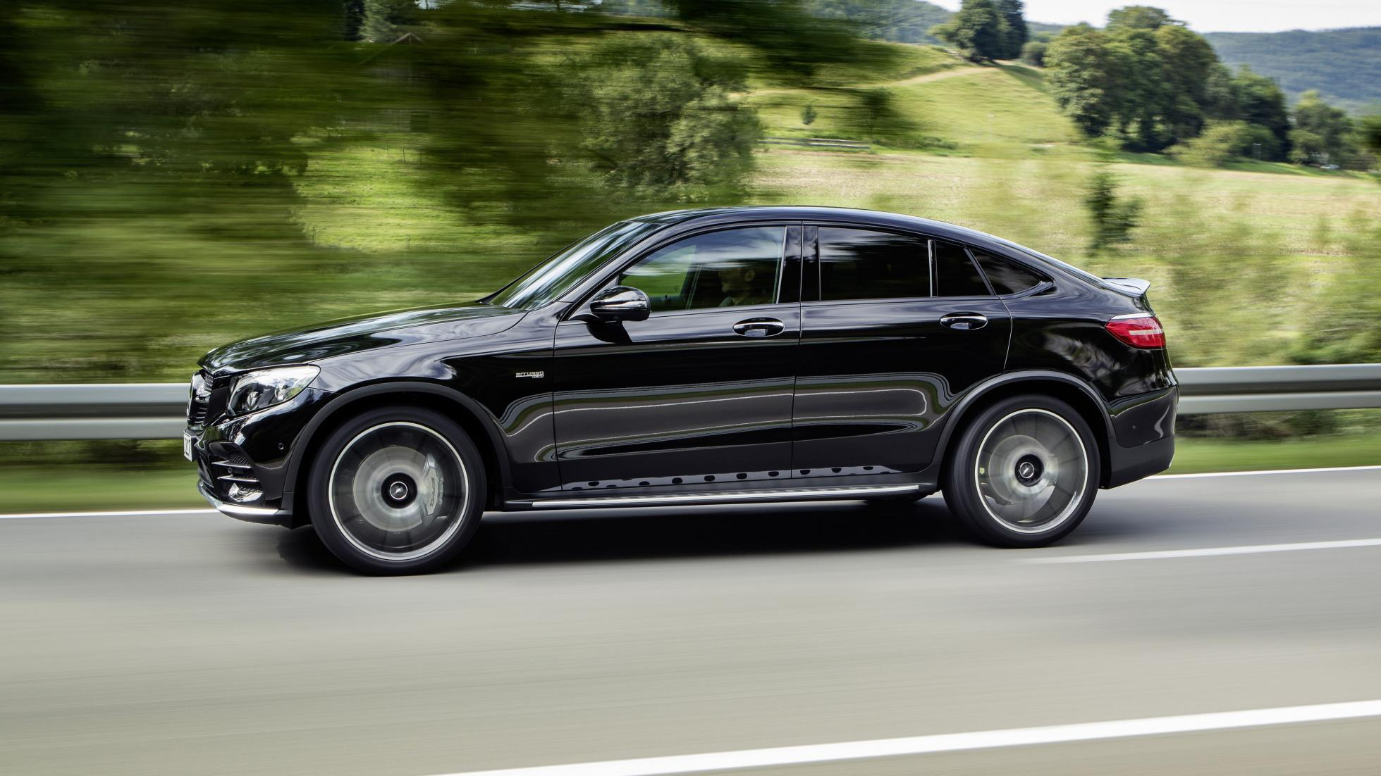 Mercedes-AMG GLC 43 Coupe review 362bhp SUV tested - First