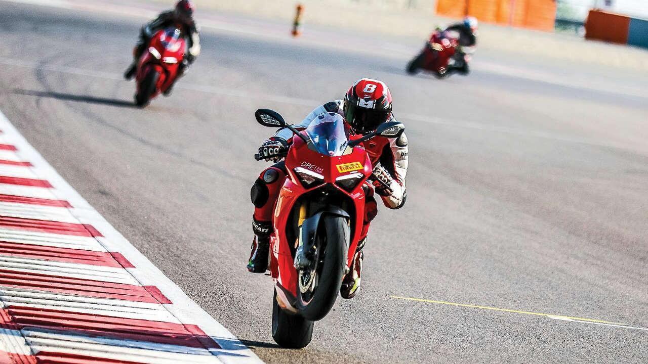 Ducati Panigale V4: Track ready