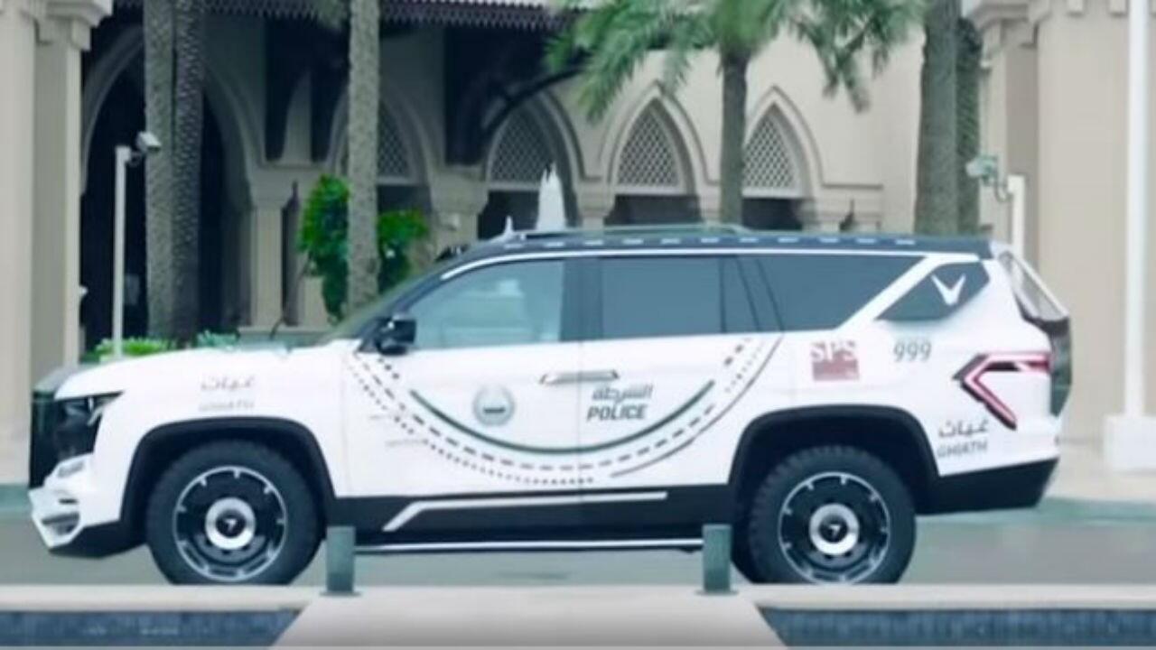 Dubai's latest police car is a face-scanning W Motors SUV ...