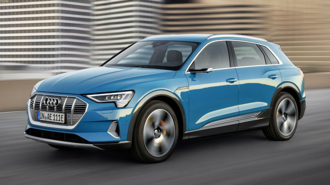 Audi already working on faster, Tesla-rivalling e-tron SUV