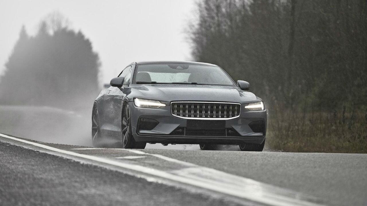 Photo of the day: the Polestar 1 is *almost* ready
