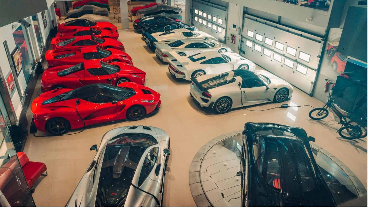 Is this the greatest supercar collection in the world?