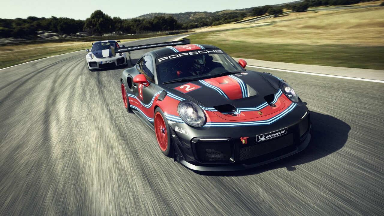 The Porsche 911 Gt2 Rs Clubsport Is A Track Only Turbo Racecar