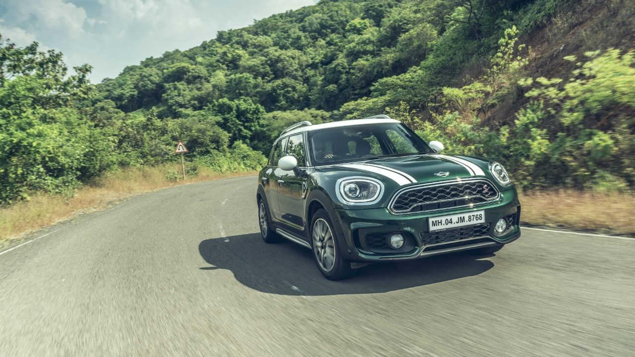 Review Mini Countryman Cooper S Jcw Inspired Topgear India