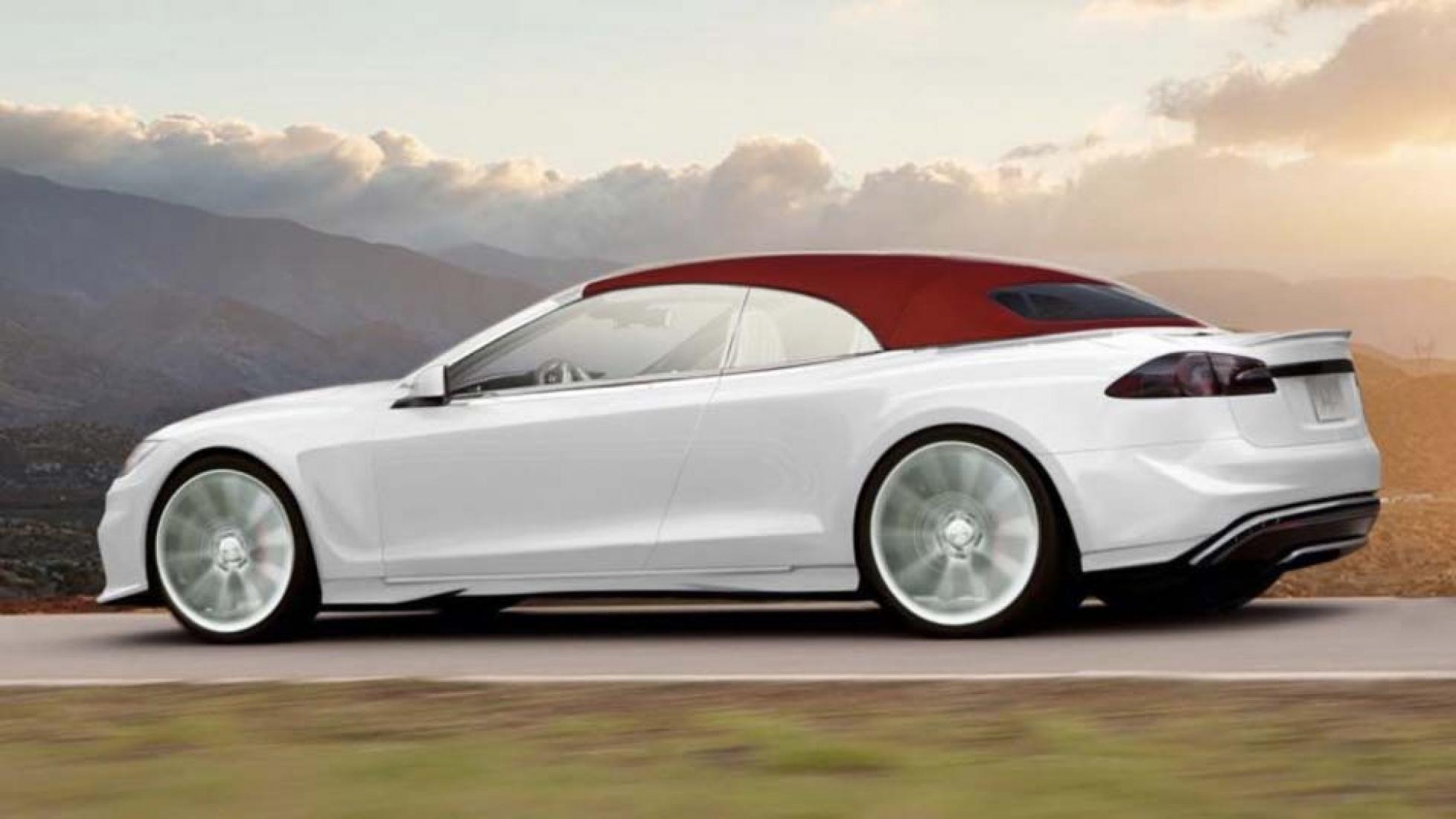 Next up from Ares Design, a Tesla Model S Roadster