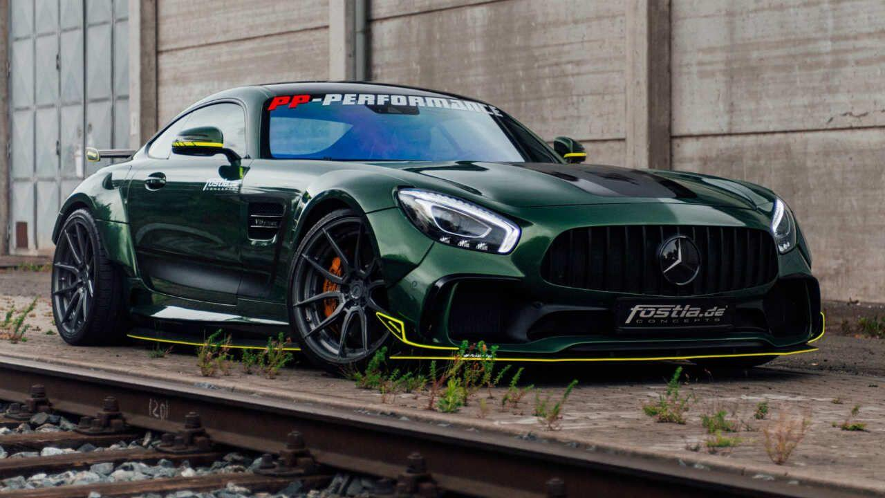 Merc's wide, fast AMG GT has been made wider and faster