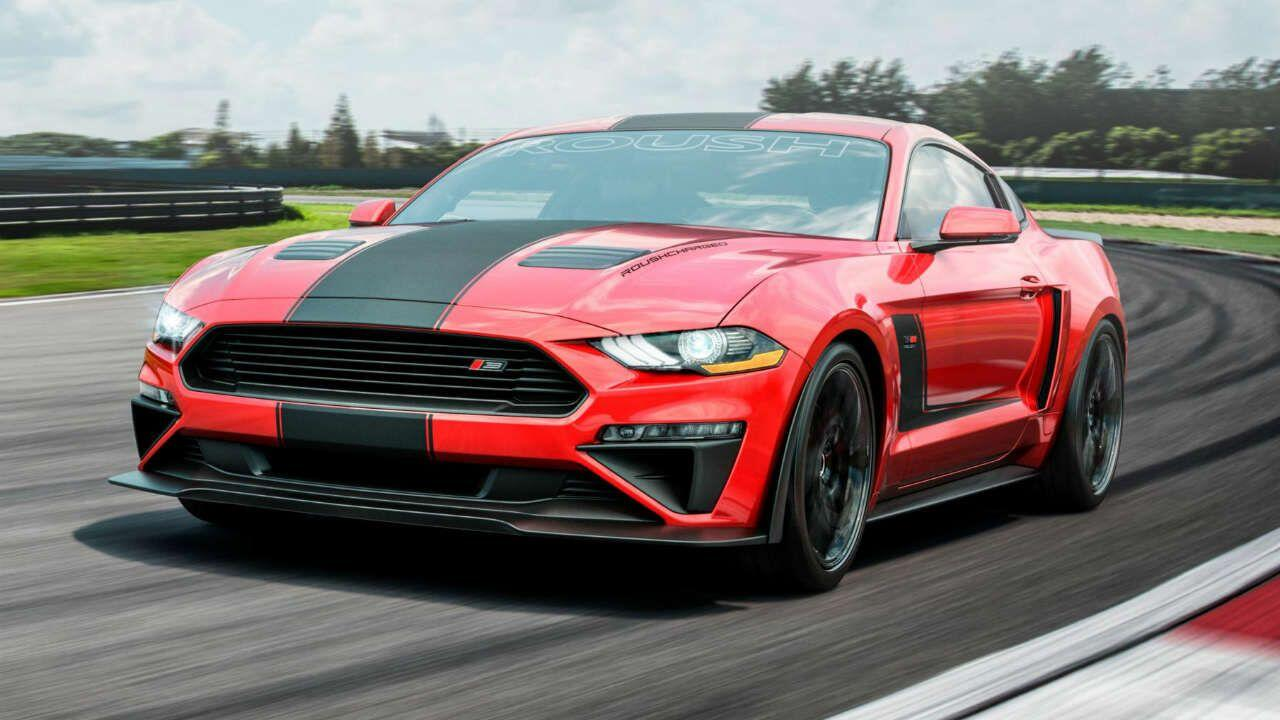 This is Roush's 710bhp, supercharged Ford Mustang
