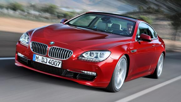 BMW's new 6-Series Coupe revealed