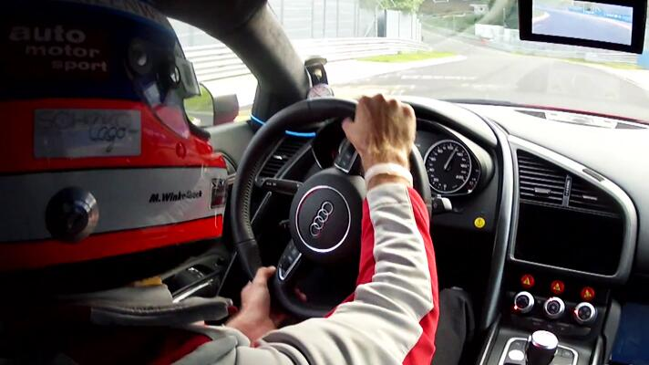 Video: Audi R8 e-tron on the 'Ring