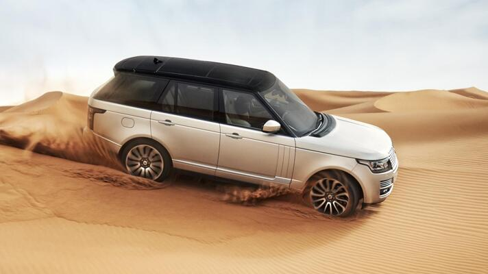 Welcome to the all-new Range Rover