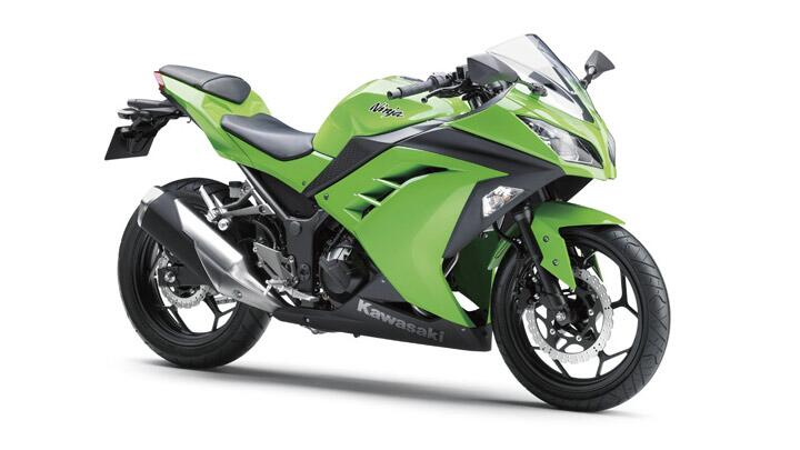 Ninja 250R finally updated