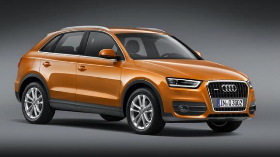 Audi Q3 unveiled