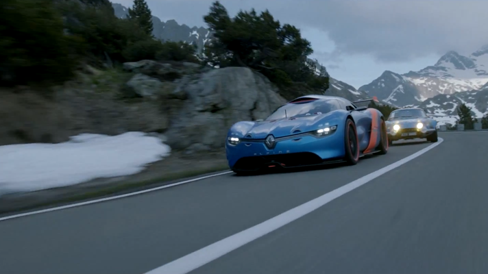 See Renault's A110-50 Concept in action