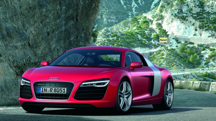 First pics: facelifted Audi R8
