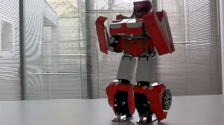 Someone has built a real-life Transformer...
