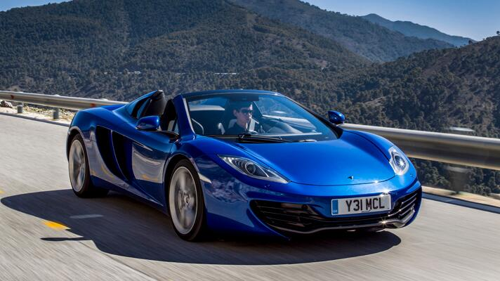 first drive mclaren mp4-12c spider - first drives - bbc topgear