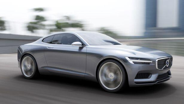 This is Volvo's SPA coupe concept