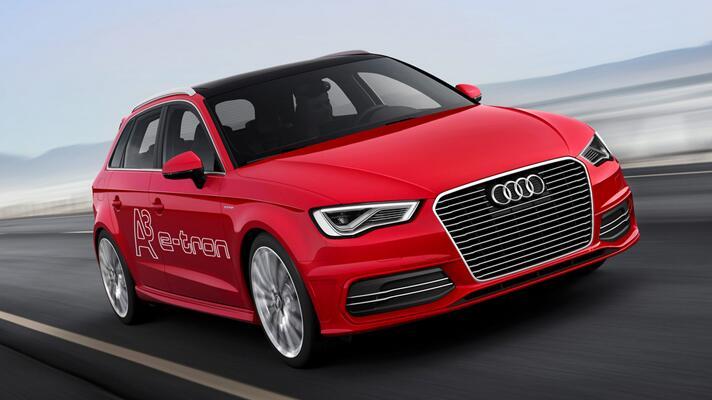 Audi A3 e-tron concept revealed