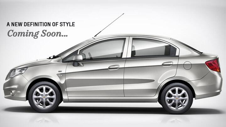 Chevrolet Sail sedan official image out