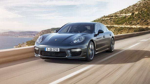 New Panamera Turbo S: is very fast