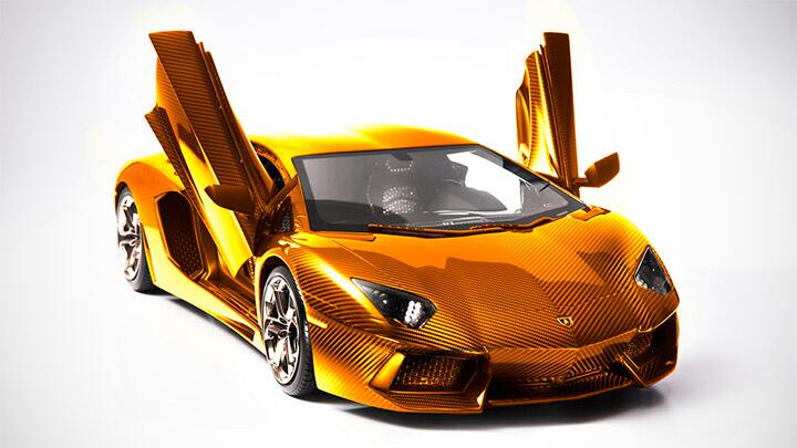 This Is A Rs 45 8 Crore Gold Aventador Car News Bbc Topgear