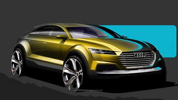 Is this the new Audi TT SUV?