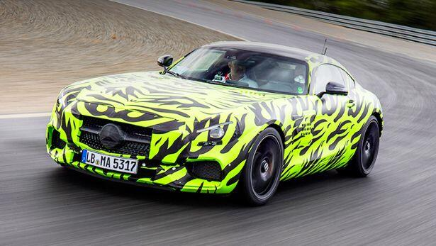 Flat Out In The Brand New Mercedes Amg Gt S