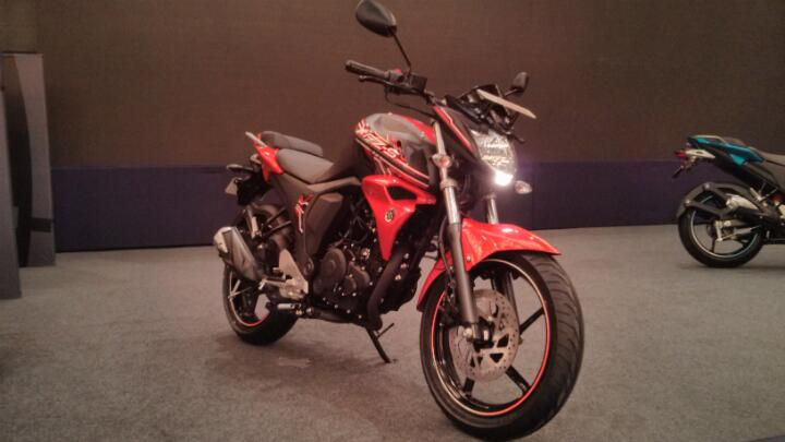 Launched Yamaha FZ and FZ-S v2 0 - Bike News - BBC TopGear