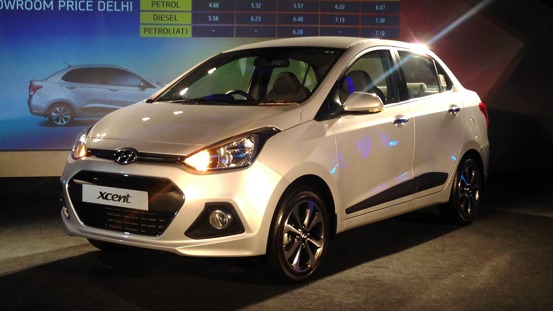 Hyundai Xcent Launched Car News Bbc Topgear Magazine India