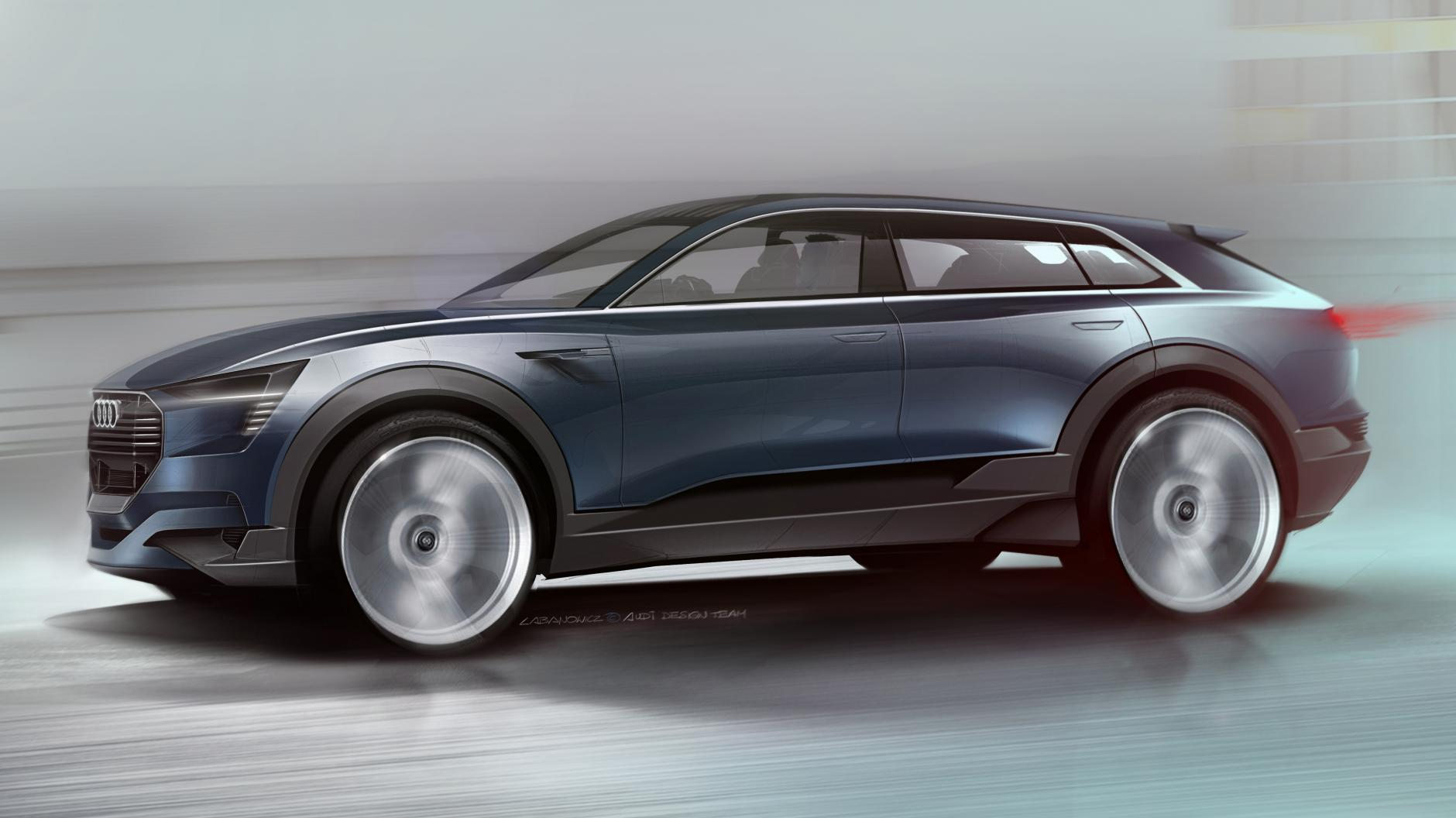 Audi S All Electric Suv Is Coming Here Your First Look