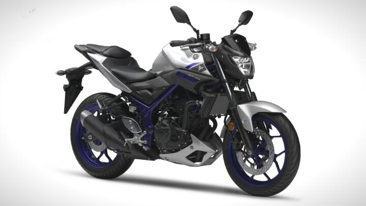 The Yamaha MT-03 has landed
