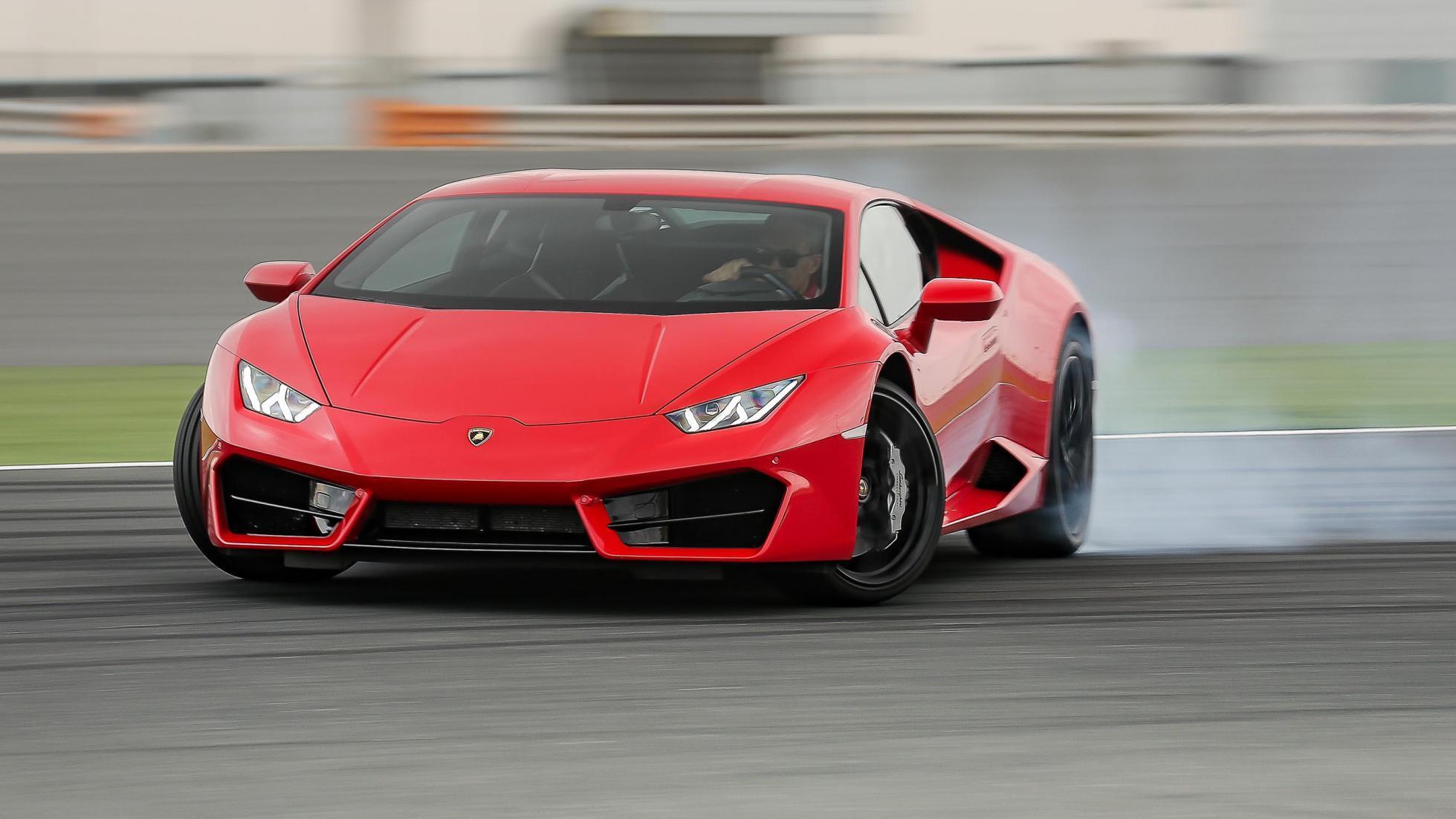 Lamborghini Drift Hd Wallpaper