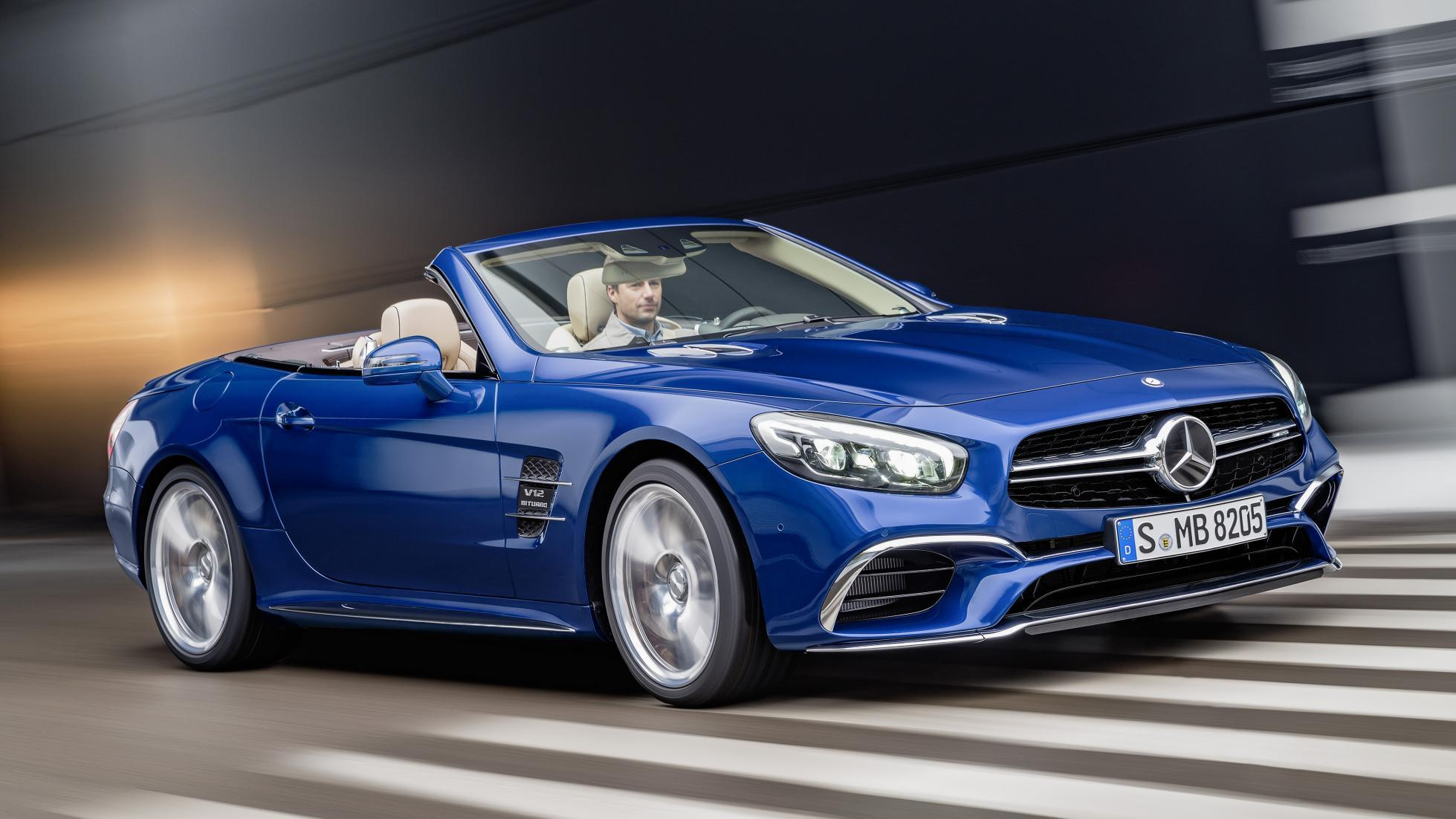 The new Merc SL is faster, prettier and (nearly) drives itself