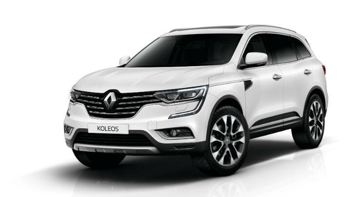 Renault Koleos unveiled at 2016 Beijing Motor Show