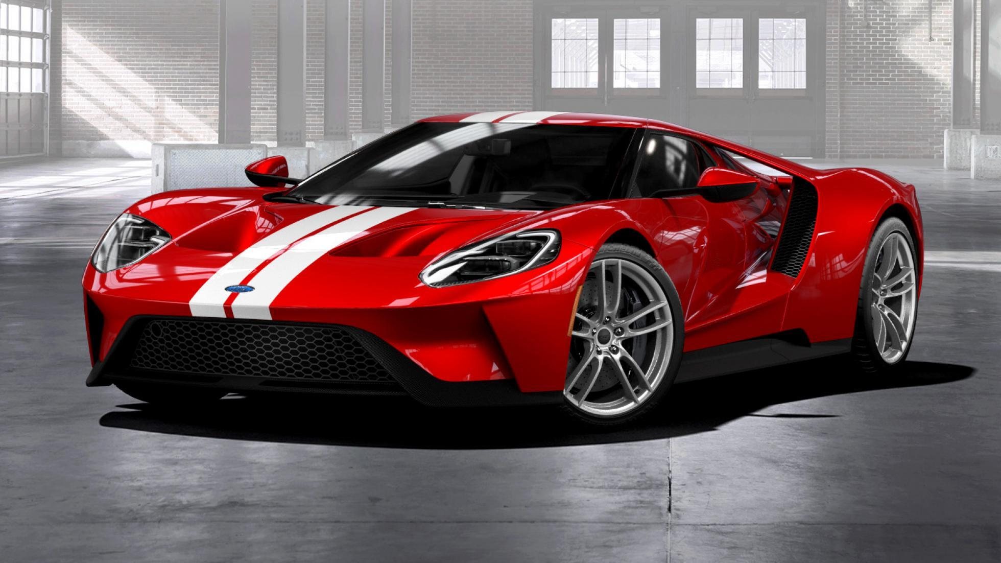 Ford Gt Production Extended By Two Years