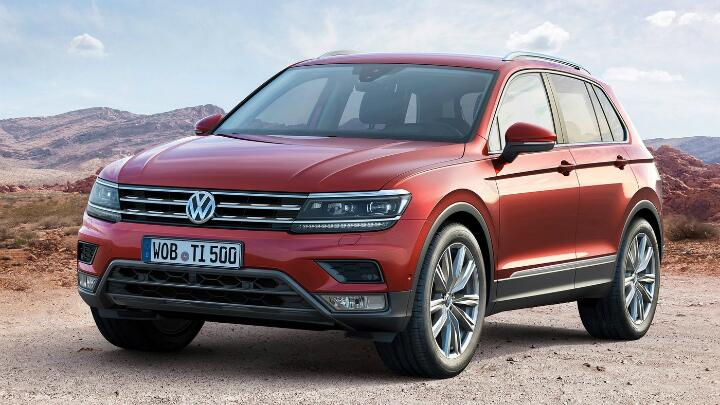 Vw Tiguan Plug In Hybrid To Make India Debut Soon