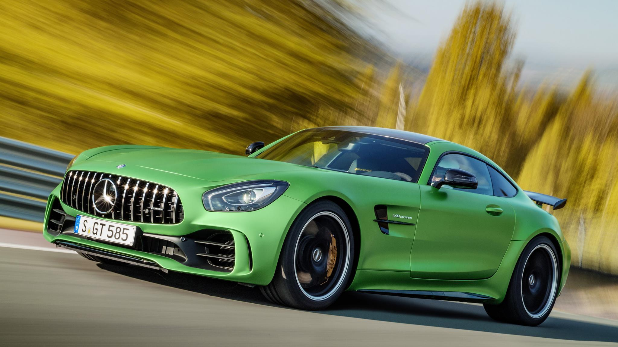Crazy 577bhp Mercedes Amg Gt R Is Here