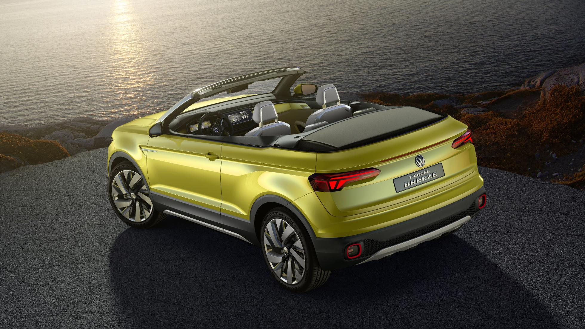 Vw T Cross Is A Polo Sized Convertible Suv