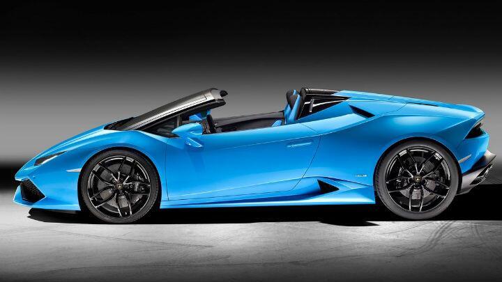 Lamborghini Huracan Spyder Launched Car News Bbc Topgear