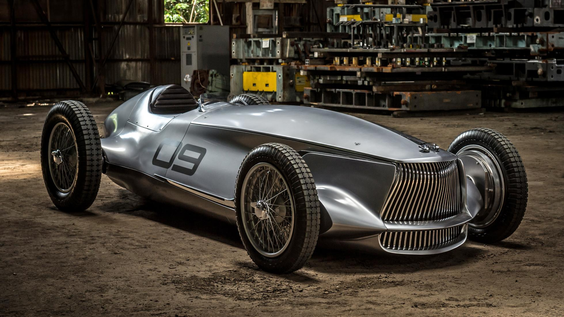 Check out Infiniti's all-electric retro racecar