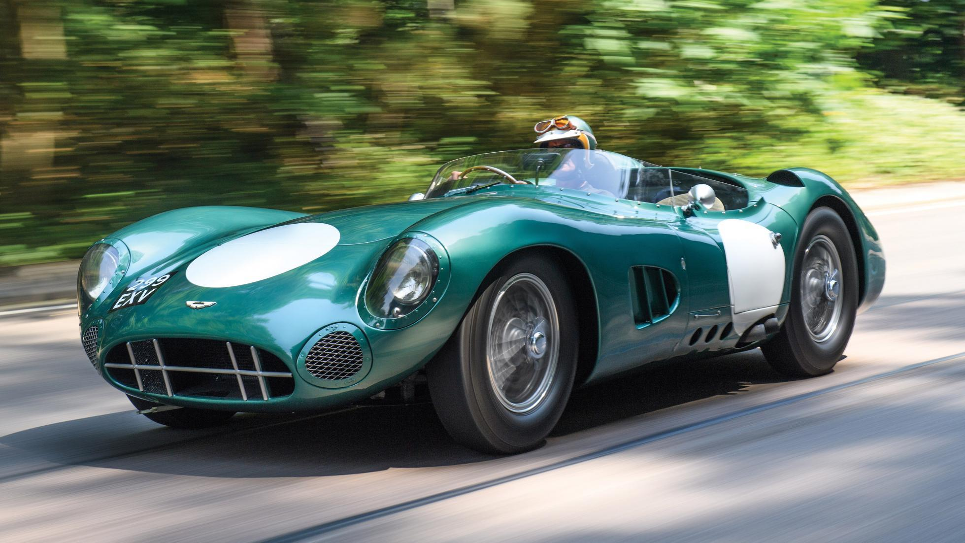This Aston Martin DBR1 is the most expensive British car sold at auction
