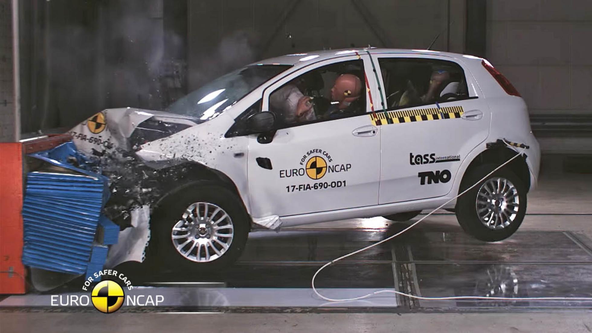 The Fiat Punto score zero NCAP stars