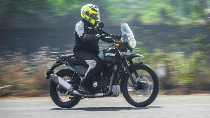 First Ride Re Himalayan Fi Bs4 First Drives Bbc Topgear Magazine