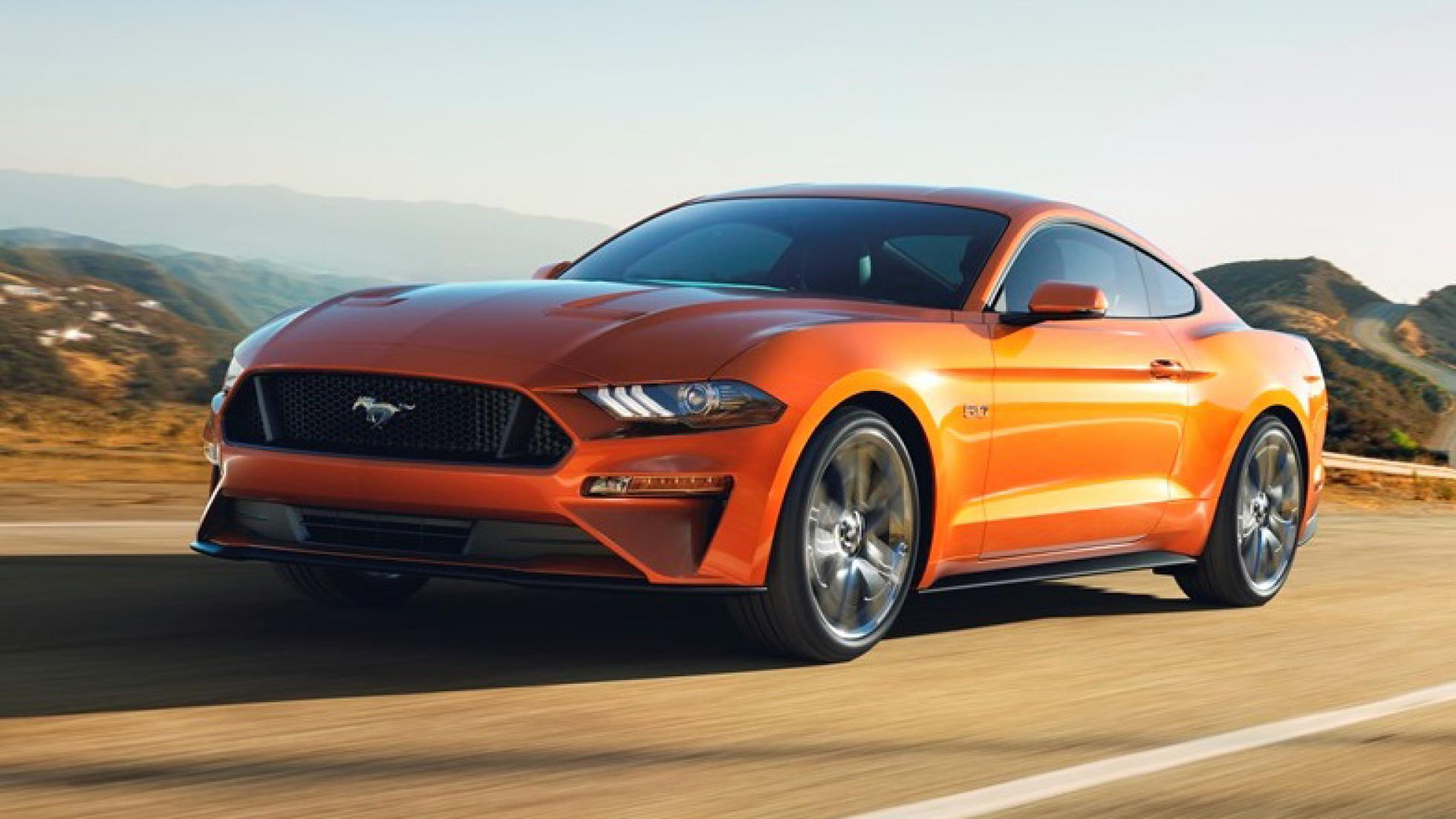 The ford mustang is now faster to 96kph than a 911