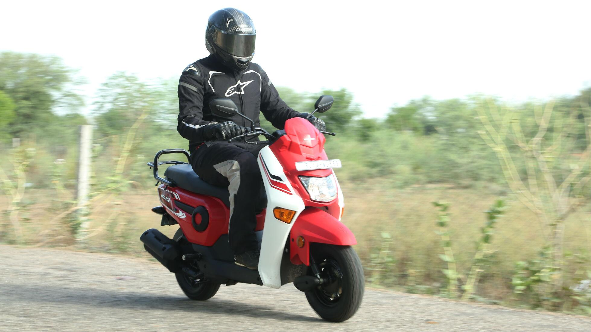 First Ride Honda Cliq Honda Bbc Topgear Magazine India Official