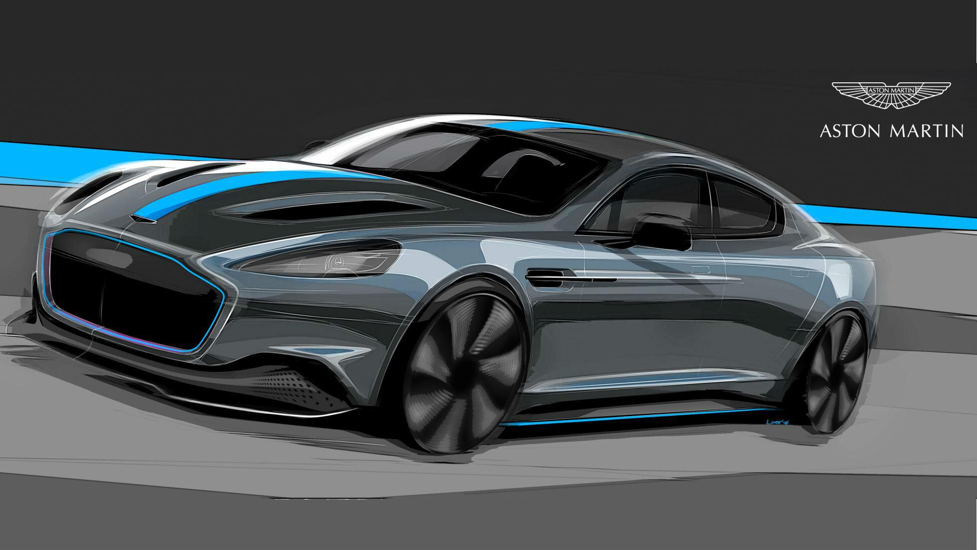 Aston Martin Is Building An All Electric Rapide