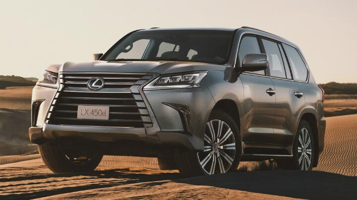 Lexus LX 450d price announced