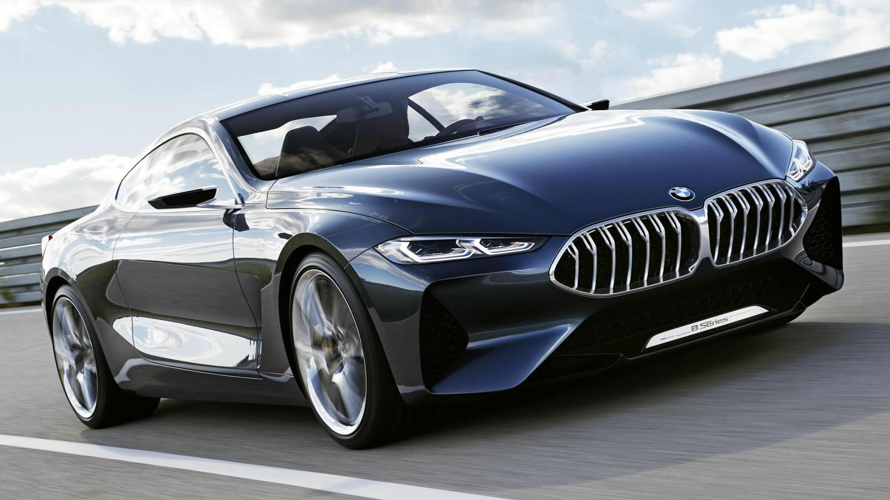 BMW Official Website >> Behold It S The Bmw 8 Series Concept Car News Bbc