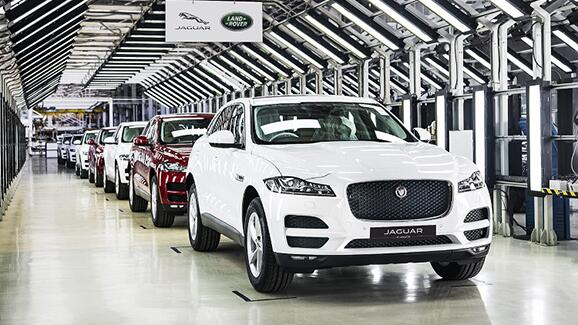 Jaguar F-Pace now made in India