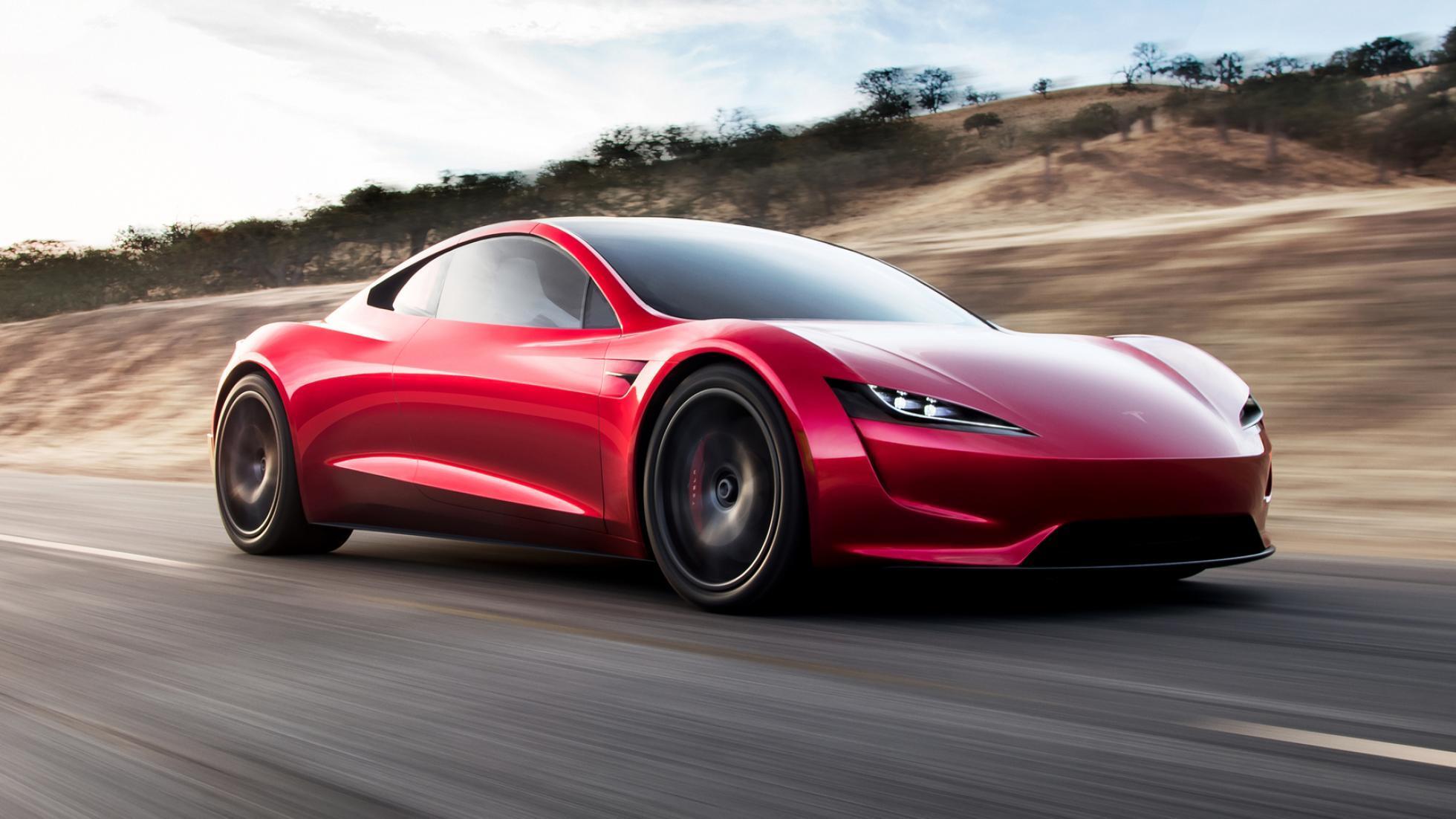 Surprise! It's the new 402kph Tesla Roadster